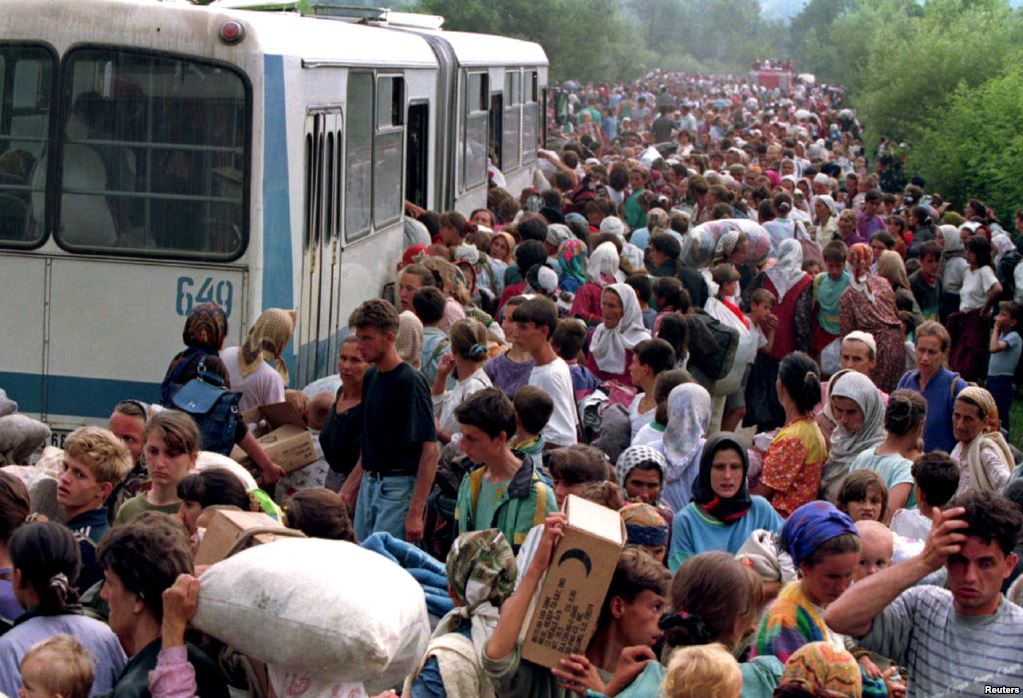 Pakistan's role in assisting the Bosnians during the Yugoslavian War of 1991