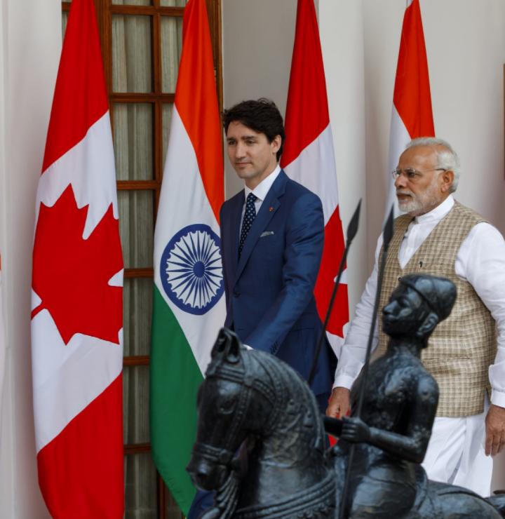 Trudeau vs Modi
